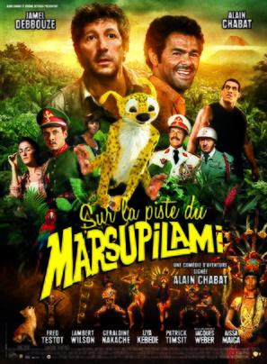Sur la piste du Marsupilami - French Movie Poster (thumbnail)