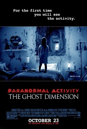 Paranormal Activity: The Ghost Dimension - Movie Poster (thumbnail)