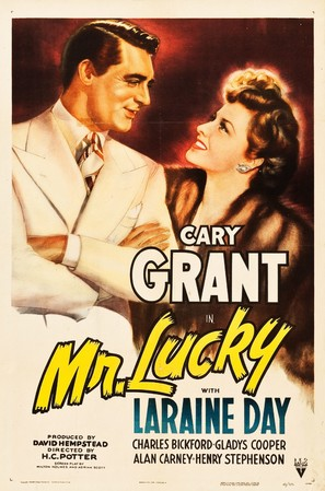 Mr. Lucky - Movie Poster (thumbnail)