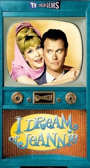 """""""I Dream of Jeannie"""" - VHS movie cover (thumbnail)"""