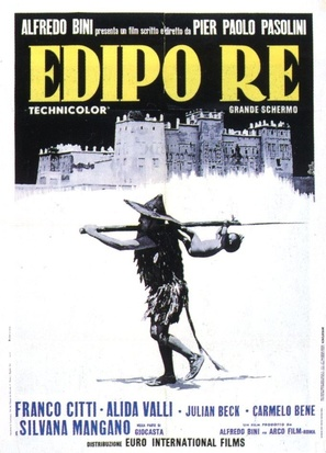 Edipo re - Italian Movie Poster (thumbnail)