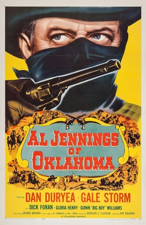 Al Jennings of Oklahoma - Re-release movie poster (thumbnail)