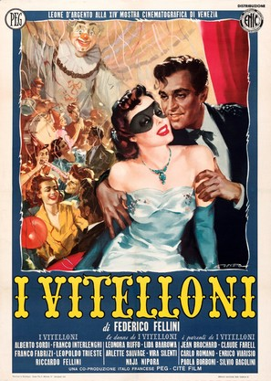 I vitelloni - Italian Movie Poster (thumbnail)
