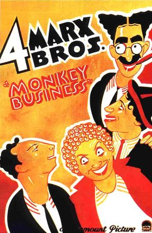 Monkey Business - Movie Poster (thumbnail)