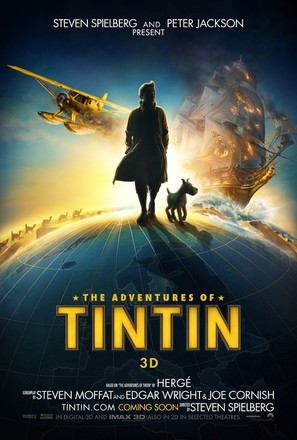 The Adventures of Tintin: The Secret of the Unicorn - Movie Poster (thumbnail)