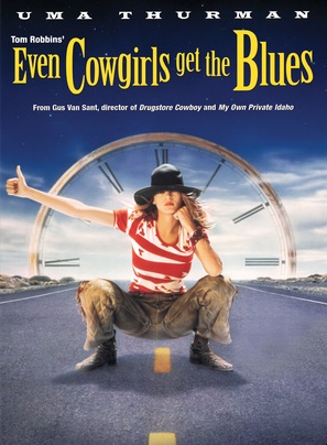 Even Cowgirls Get the Blues - Movie Poster (thumbnail)