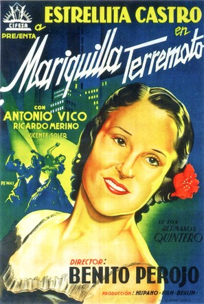Mariquilla Terremoto - Spanish Movie Poster (thumbnail)