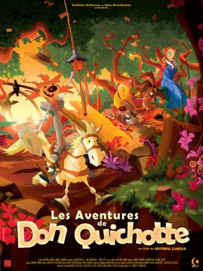 Las aventuras de Don Quijote - French Movie Poster (thumbnail)