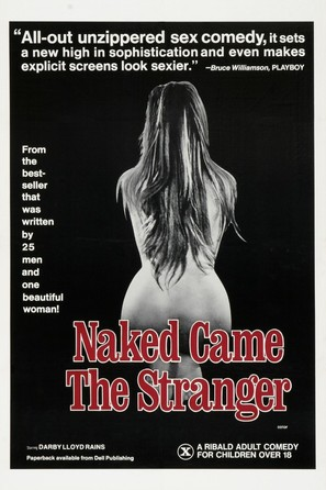 Naked Came the Stranger - Theatrical poster (thumbnail)