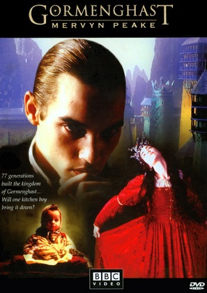 """Gormenghast"" - British DVD cover (thumbnail)"