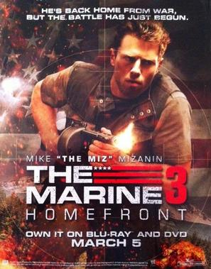 The Marine: Homefront - Video release poster (thumbnail)