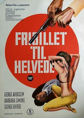 Agente 3S3: Passaporto per l'inferno - Danish Movie Poster (thumbnail)