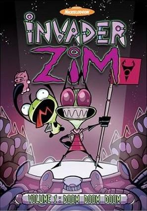 """Invader ZIM"" - DVD movie cover (thumbnail)"