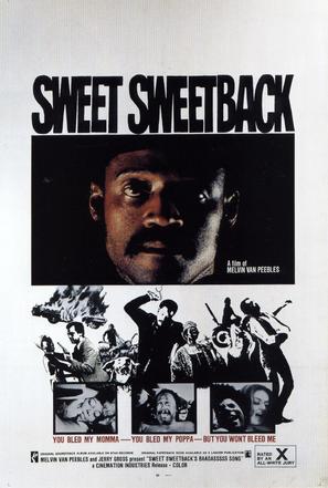 Sweet Sweetback's Baadasssss Song - Movie Poster (thumbnail)