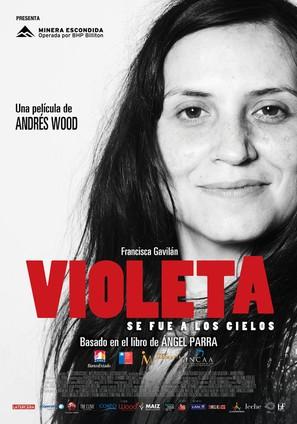 Violeta se fue a los cielos - Chilean Movie Poster (thumbnail)