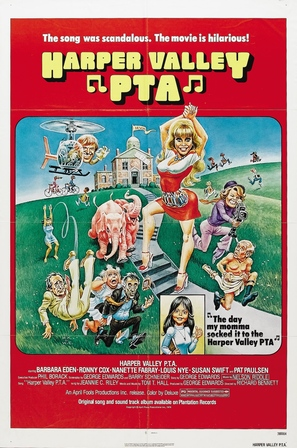 Harper Valley P.T.A. - Movie Poster (thumbnail)