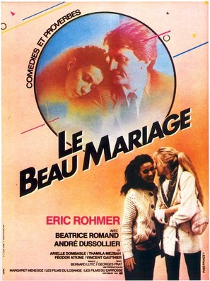 Le beau mariage - French Movie Poster (thumbnail)