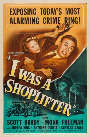 I Was a Shoplifter - Movie Poster (thumbnail)