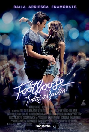 Footloose - Argentinian Movie Poster (thumbnail)