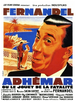 Adhèmar ou le jouet de la fatalitè - French Movie Poster (thumbnail)