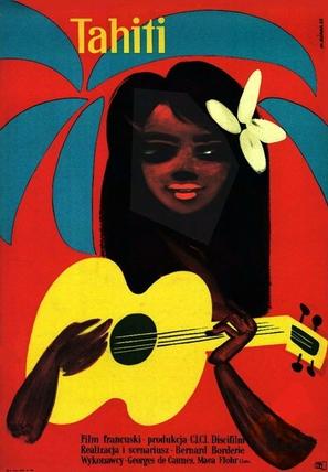 Tahiti ou la joie de vivre - Polish Movie Poster (thumbnail)