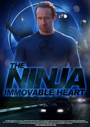 The Ninja Immovable Heart - Australian Movie Poster (thumbnail)