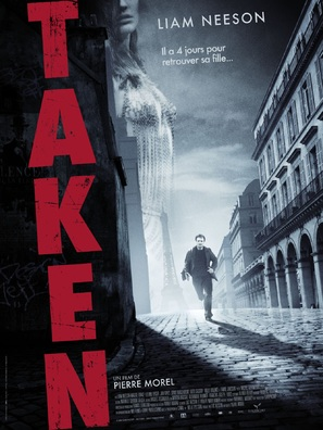 Taken - French Movie Poster (thumbnail)