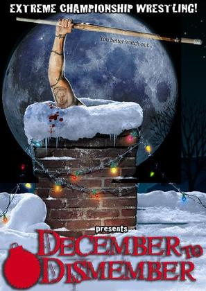 ECW December to Dismember - DVD cover (thumbnail)