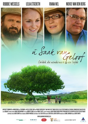 'n Saak van geloof - South African Movie Poster (thumbnail)