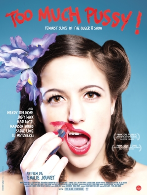 Too Much Pussy! Feminist Sluts, a Queer X Show - French Movie Poster (thumbnail)