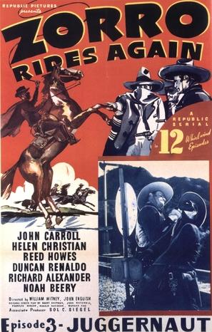 Zorro Rides Again - Movie Poster (thumbnail)