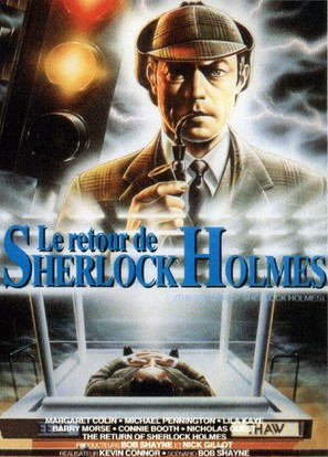 The Return of Sherlock Holmes - French Movie Cover (thumbnail)