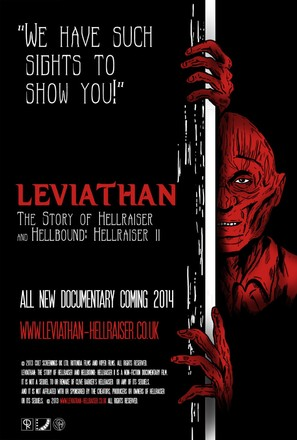 Leviathan: The Story of Hellraiser and Hellbound: Hellraiser II - British Movie Poster (thumbnail)