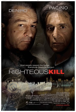 Righteous Kill - Movie Poster (thumbnail)
