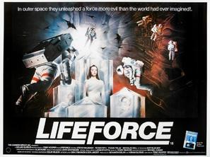 Lifeforce - British Movie Poster (thumbnail)