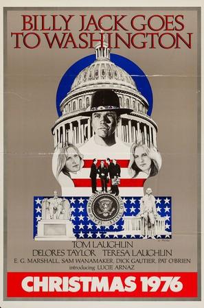 Billy Jack Goes to Washington - Movie Poster (thumbnail)