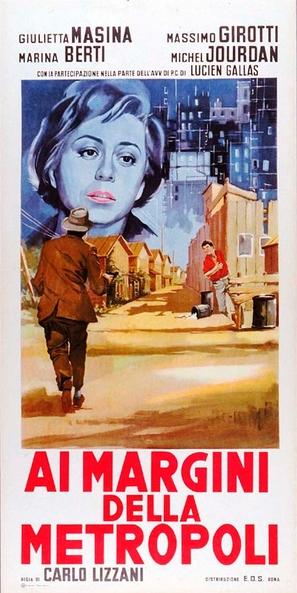 Ai margini della metropoli - Italian Movie Poster (thumbnail)