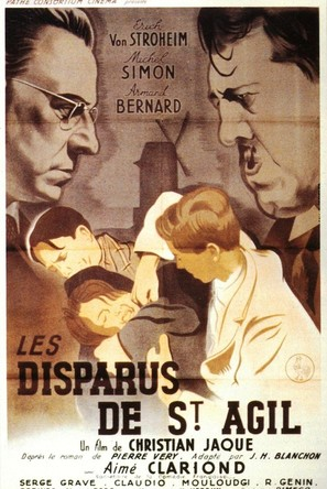 Les disparus de Saint-Agil - French Movie Poster (thumbnail)