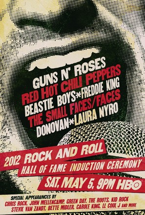 The 2012 Rock and Roll Hall of Fame Induction Ceremony - Movie Poster (thumbnail)