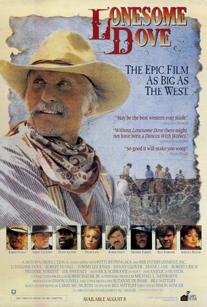 """Lonesome Dove"" - Movie Poster (thumbnail)"