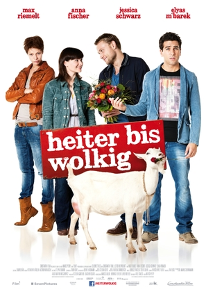 Heiter bis wolkig - German Movie Poster (thumbnail)