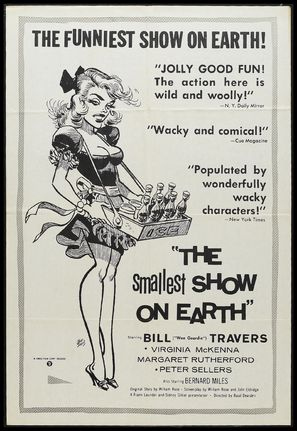 The Smallest Show on Earth - Movie Poster (thumbnail)