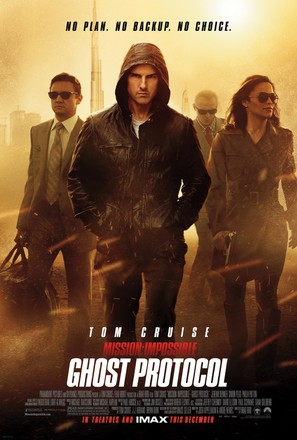 Mission: Impossible - Ghost Protocol - Movie Poster (thumbnail)