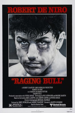 Raging Bull - Movie Poster (thumbnail)