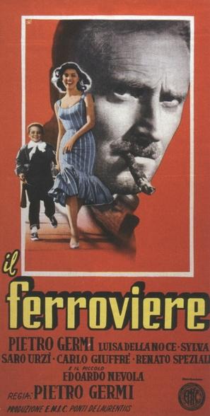 Il ferroviere - Italian Movie Poster (thumbnail)