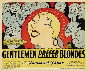 Gentlemen Prefer Blondes - Movie Poster (thumbnail)