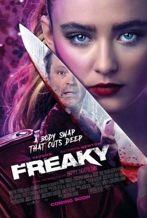 Freaky - British Movie Poster (thumbnail)
