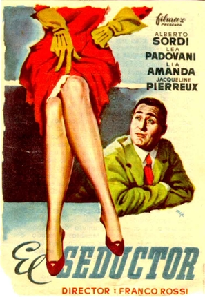 Seduttore, Il - Spanish Movie Poster (thumbnail)