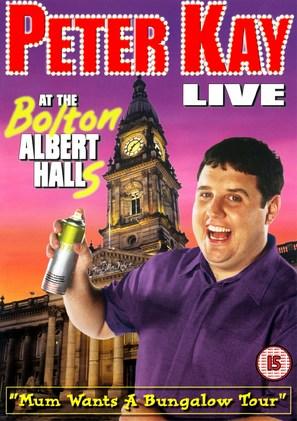 Peter Kay Live at the Bolton Albert Halls - British poster (thumbnail)