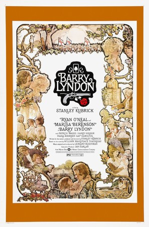 Barry Lyndon - Theatrical movie poster (thumbnail)